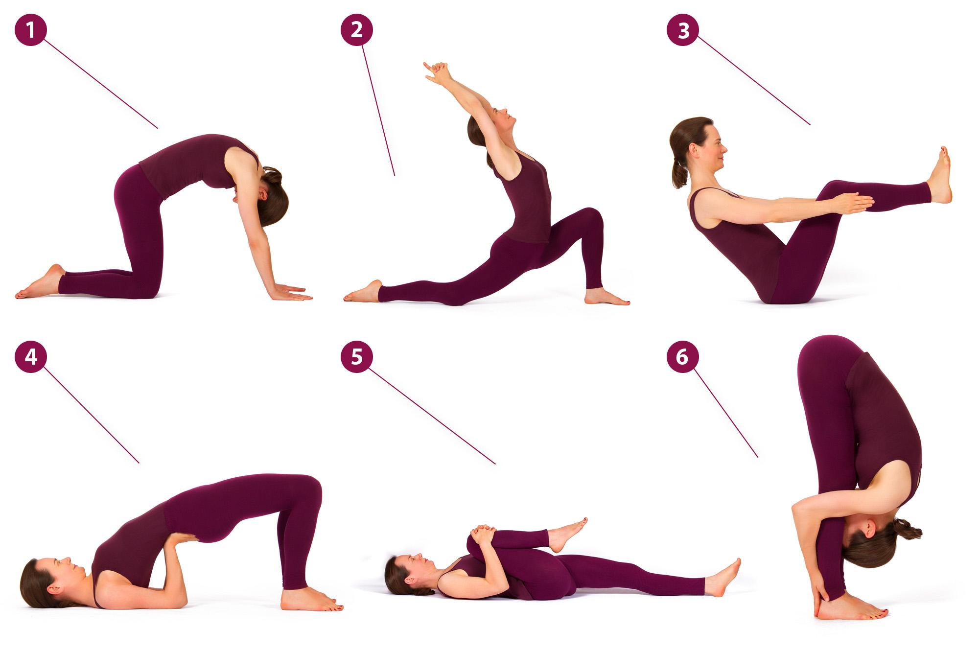 6 yoga bungen f r den r cken yogastudio heidi paschen. Black Bedroom Furniture Sets. Home Design Ideas